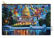Capital At Night - Washington Carry-all Pouch