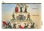 Capitalist Pyramid, 1911 - To License For Professional Use Visit Granger.com Carry-all Pouch