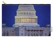Capitol At Dusk Carry-all Pouch