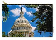 Capitol Of The United States Carry-all Pouch