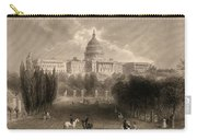 Capitol Of The Unites States, Washington D C Carry-all Pouch