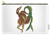 Capricorn Carry-all Pouch by Barbara McConoughey