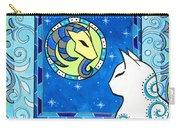 Capricorn Cat Zodiac Carry-all Pouch