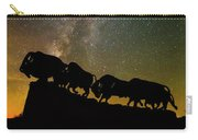 Caprock Canyon Bison Stars Carry-all Pouch