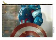 Captain America With Helmet Carry-all Pouch