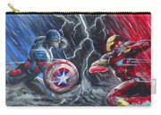 Captain American Vs Ironman Carry-all Pouch
