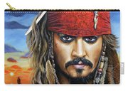 Captain Jack Carry-all Pouch by Arie Van der Wijst