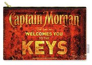 Captain Morgan Welcome Florida Keys Carry-all Pouch