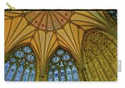 Chapter House Ceiling, York Minister Carry-all Pouch