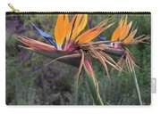 Captivating Bird Of Paradise In Full Bloom Carry-all Pouch