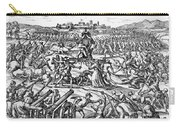 Capture Of Atahualpa, 1532 Carry-all Pouch