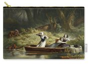 Capture Of The Daughters Of Daniel Boone And Richard Callaway By The Indians Carry-all Pouch