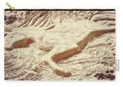 Captured In The Sand Art Carry-all Pouch