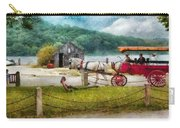 Car - Wagon - Traveling In Style Carry-all Pouch