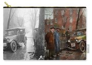 Car Accident - Watch For Ice 1921 - Side By Side Carry-all Pouch