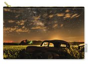 Car And The Milky Way Carry-all Pouch