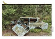 Car Graveyard In Smaland Carry-all Pouch