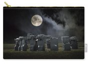 Car Henge Under The Moonlight Carry-all Pouch