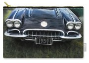 Car On The Grass Carry-all Pouch