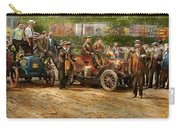Car - Race - The End Of A Long Journey 1906 Carry-all Pouch