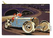Car Racing Christmas Poster Of The 30s Carry-all Pouch
