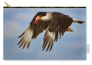 Caracara In Flight Carry-all Pouch