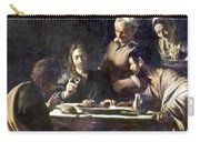 Caravaggio: Emmaus Carry-all Pouch