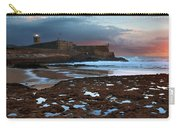 Fort In Carcavelos Beach Carry-all Pouch