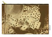 Card Games And Vintage Bets Carry-all Pouch
