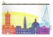 Cardiff Skyline Pop Carry-all Pouch