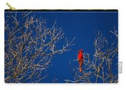 Cardinal Against Blue Sky Carry-all Pouch