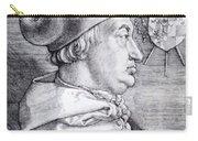 Cardinal Albrecht Of Brandenburg 1523 Carry-all Pouch