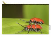 Cardinal Beetle  Carry-all Pouch