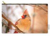 Cardinal Bird Female Carry-all Pouch