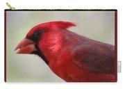 Cardinal Closeup D-bn2 Carry-all Pouch