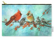 Cardinal Family Three Kids Carry-all Pouch