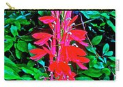 Cardinal Flower Near Schroon River In The Adirondacks-new York  Carry-all Pouch