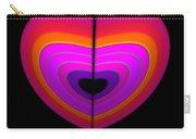 Cardinal Heart Carry-all Pouch
