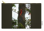Cardinal In The Crepe Myrtle Carry-all Pouch