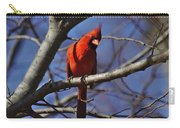Cardinal On Watch Carry-all Pouch