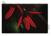 Cardinal  Plant Woodcut Carry-all Pouch