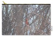 Cardinal Singing  Carry-all Pouch
