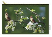 Cardinals In Spring Carry-all Pouch