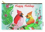 Cardinals Painted By Judith Brilhamte Carry-all Pouch