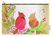 Cardinals Painted By Linda Sue Carry-all Pouch
