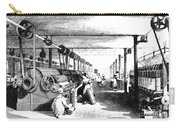 Carding Engine And Drawing Frame, 1835 Carry-all Pouch