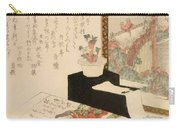 Cards Fukujuso Flowers And Screen Carry-all Pouch