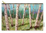 Carefree Birches Carry-all Pouch