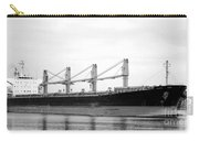 Cargo Ship On River Carry-all Pouch
