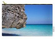 Caribbean Beach Rock Tulum Mexico Carry-all Pouch
